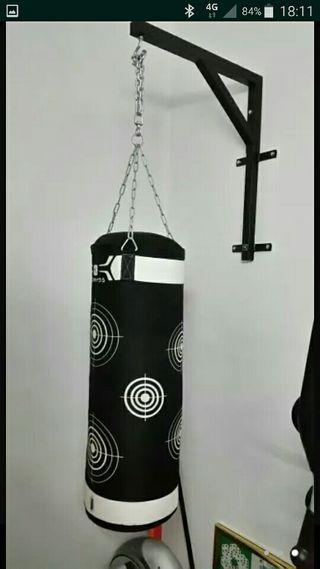 saco boxeo mas soporte