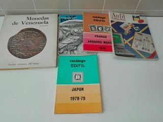 Lote de libros de numismatica
