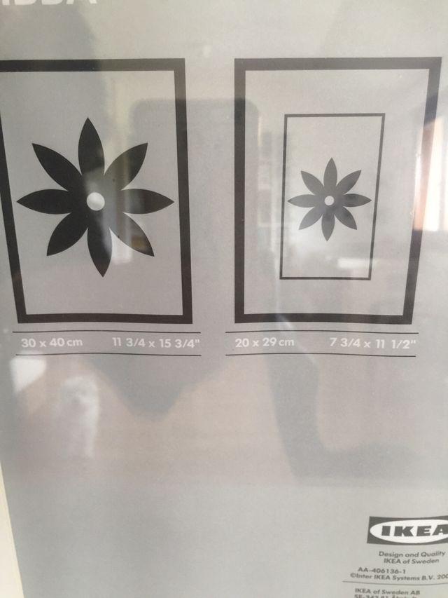 Excelente Tamaño Del Cartel Marcos De Ikea Galería - Ideas de Arte ...