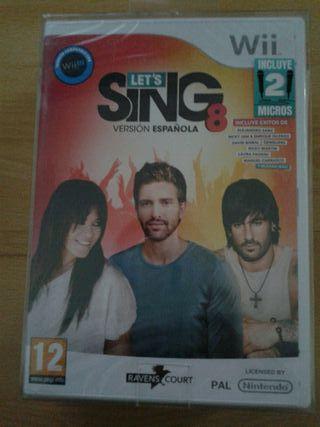 Wii y Wii U. Let's Sing 8 version Española