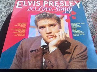 Disco vinilo Elvis Presley-20 Love Songs