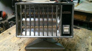 estufa eléctrica vintage