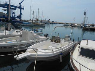 Barca open 5 mts