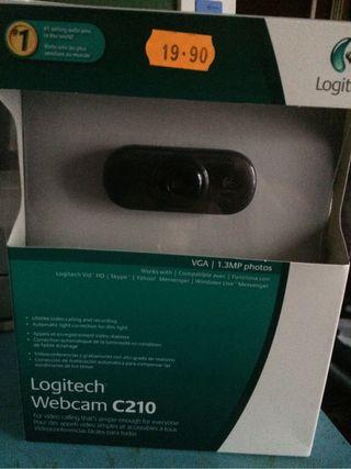 Camara de webcam. C210