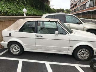 volkswagen Golf Cabrio 1989.