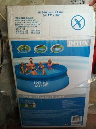 piscina plástico