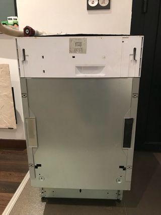 Lavavajillas panelable 45 cm