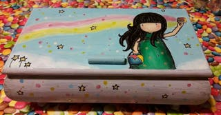 Joyeros y costureros pintados a mano