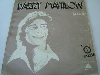"BARRY MANILOW-.MADY- SINGLE VINILO 7""."