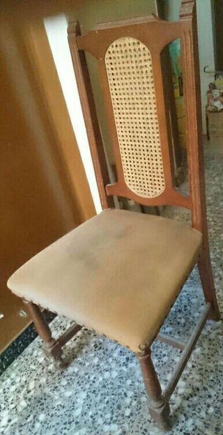 6 sillas comedor para tapizar de segunda mano por 7 en - Precio tapizar sillas ...