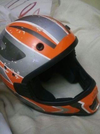 casco para moto cros para niño