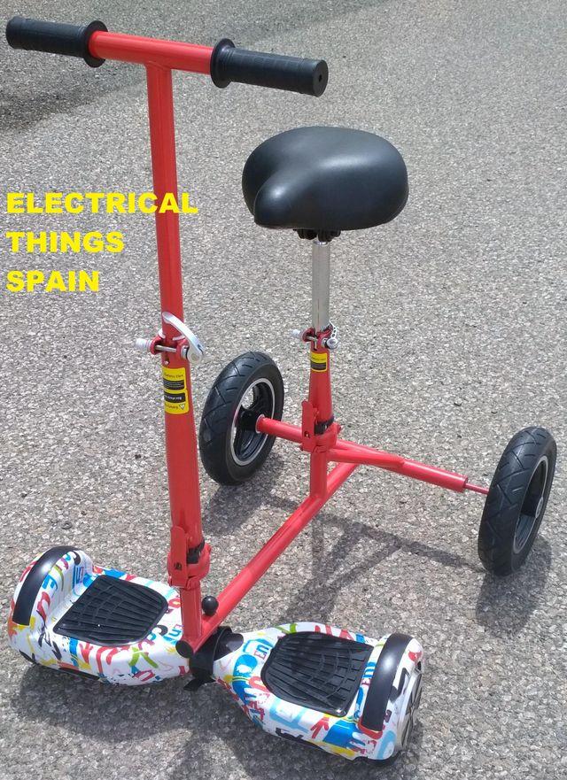 Silla Patín Hoverboard Kart Patinete Hoverkart De Segunda Mano Por 70 En Elche En Wallapop