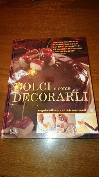 Libro de dulces italianos y como decorarlos
