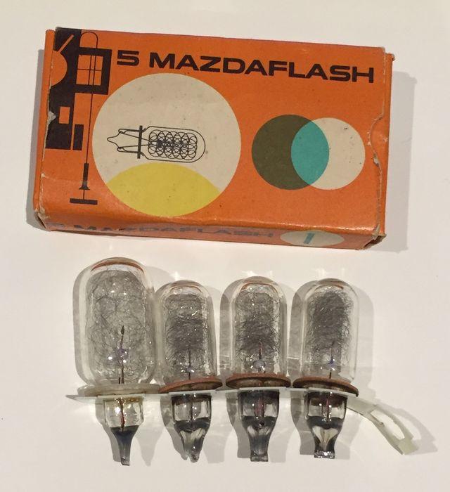 4 Lampes Flash Mazda Flash en état de marche