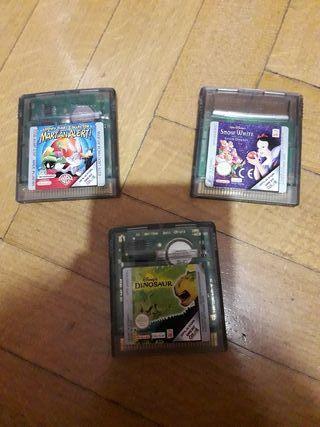 3 juegos de la Game Boy