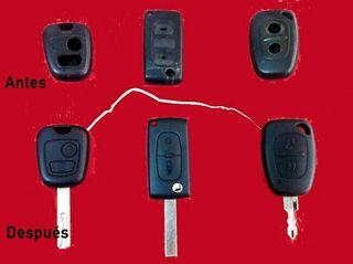 Reparación de llaves de vehículos