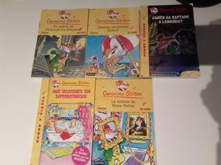 libros lectura divertidos Gerónimo Stilton