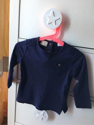 Camiseta bebé niña 12-18 M