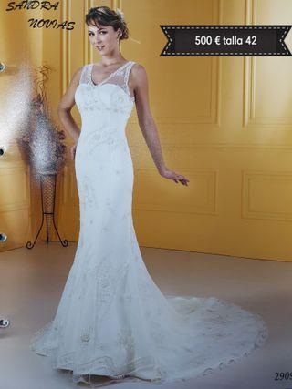 vestido de novia talla 42 de segunda mano en la provincia de cáceres