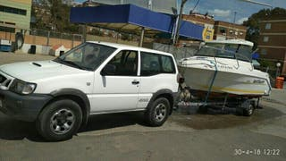 Barco + remolque + coche
