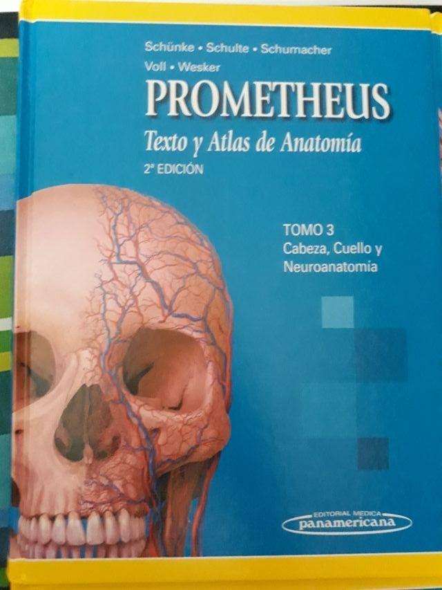 Prometheus texto y Atlas de anatomía 2 edición de segunda mano por ...