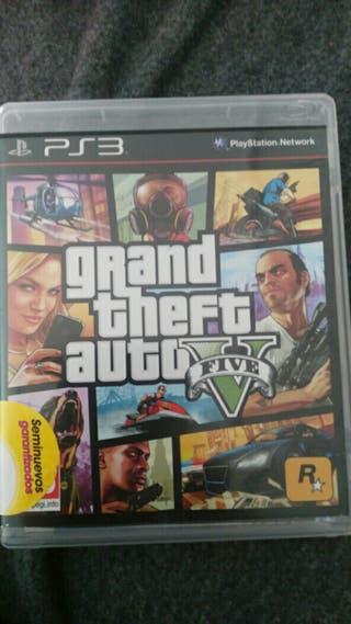 vendo gta5 de ps3