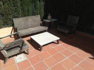 Conjunto sillones y mesas de jardín