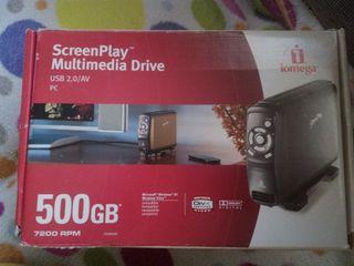 Disco duro y reproductor multimedia