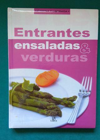 Libro ensaladas y entrantes