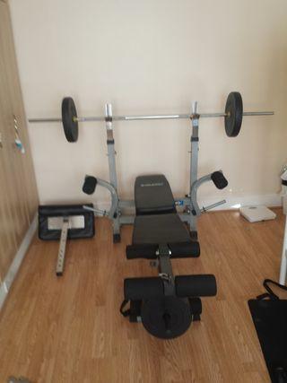 Gym bench Gymano Elite Mega Mutligym Bench