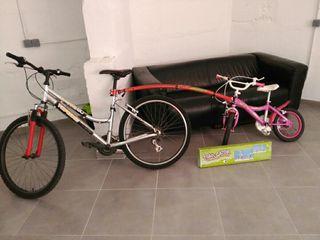 Bicicleta adulto, tundem o bici de niña
