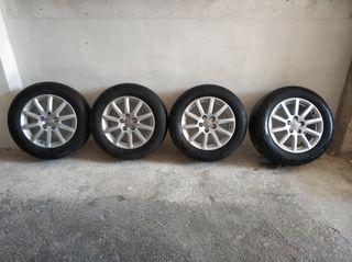Llantas Audi + Neumáticos