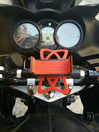 Soporte móvil para moto y bicicleta