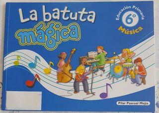 Libro: La batuta mágica 6° primaria (Nuevo)