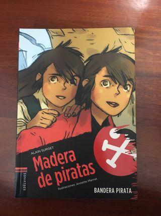 Libro MADERA DE PIRATAS