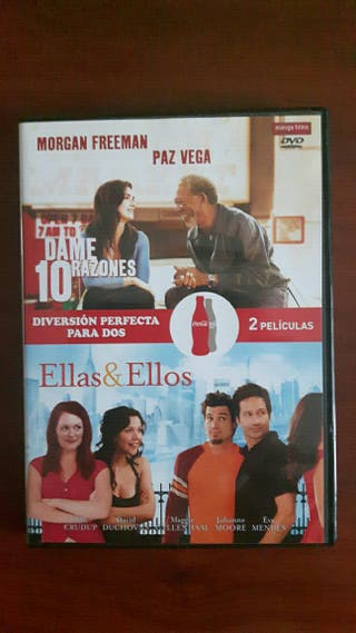 """2 peliculas 2 DVD""""Dame 10 razones"""" y Ellas & Ellos"""