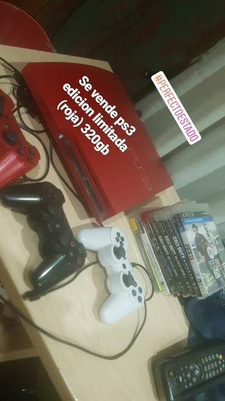 ps3 mas juegos y 3 mandos. precio negociable