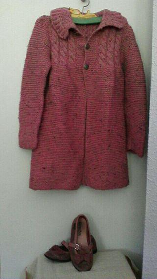 abrigo niña talla4
