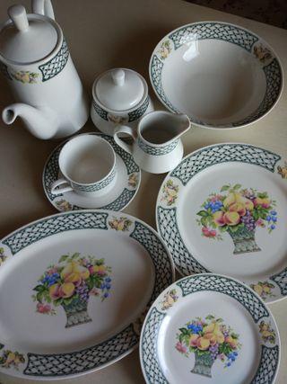 Vajilla y juego de té