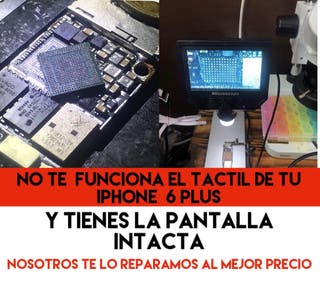 Te falla el tactil a tu iPhone 6 Plus