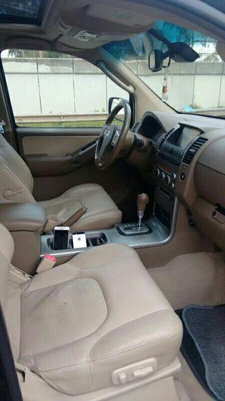 Nissan Pathfinder 2006 negro automático 7 plazas