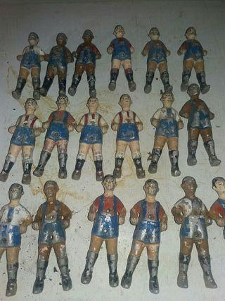 muñecos fulbolin antiguos