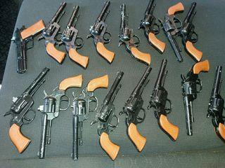 pistola de llavero pistones