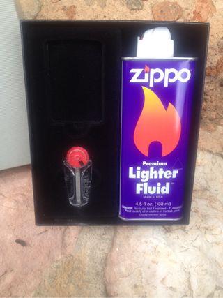 Kit gasolina y mechas de zippo