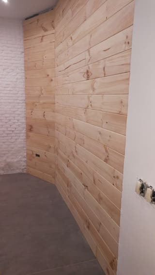 Revestimiento / forrado pared madera