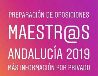 Preparación Oposiciones Maestros 2019