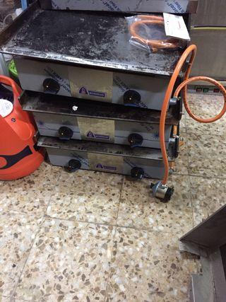 Plancha a gas mundigas 1hora de segunda mano por 190 en fuenlabrada en wallapop - Planchas de gas de segunda mano ...