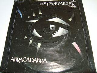 THE STEVE MILLER BAND-.ABRACADABRA- SINGLE VINILO