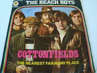 "THE BEACH BOYS-.COTTONFIELDS- SINGLE VINILO 7 ""."