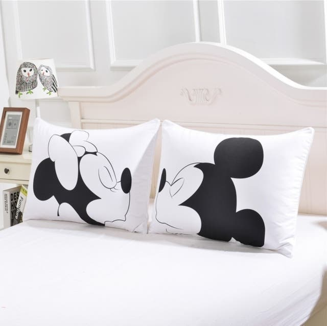 Funda Nordica Mickey Y Minnie Beso.Funda Nordica Disney All We Have Is Love De Segunda Mano Por 40